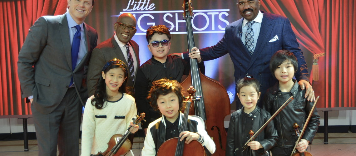 Joyous String Quintet on Little Big Shots